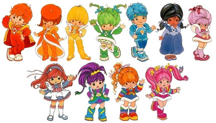 Image result for rainbow brite color kids