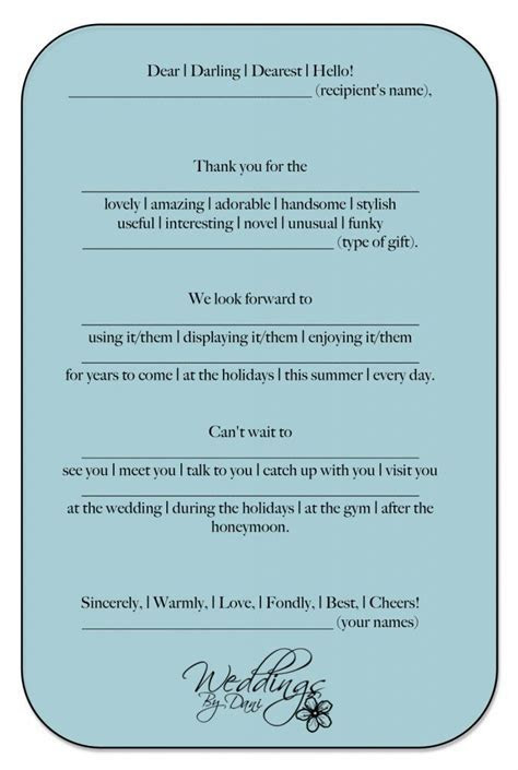 Wedding Thank You Cards! Template made easy!   Wedding