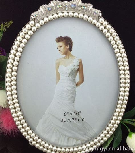 Wholesale (10 pieces/lot) 8x10 Pearl Rhinestone Picture