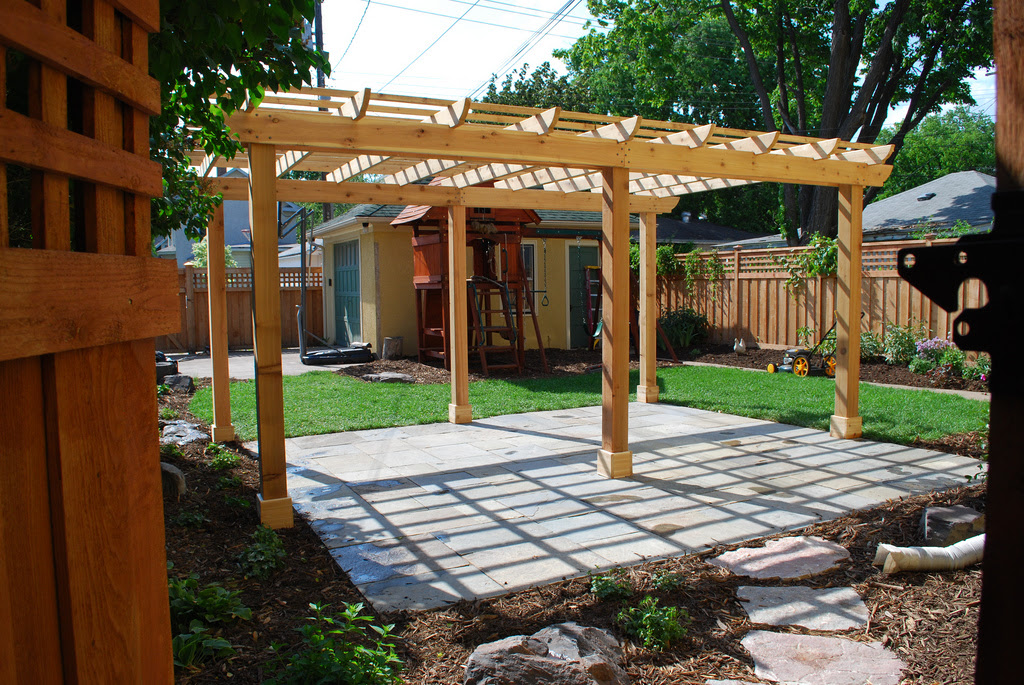 Define Your Outdoor Space With a Pergola/Arbor - Brunsell