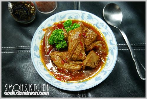 辣豆瓣燒牛肉07