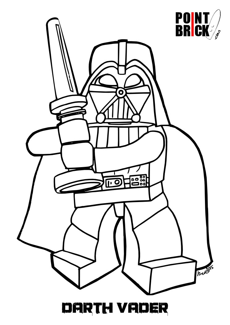 Lego Darth Vader Drawing At Getdrawingscom Free For Personal Use
