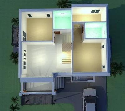 desain rumah 2 lantai ukuran 7x11 - testingnyatext