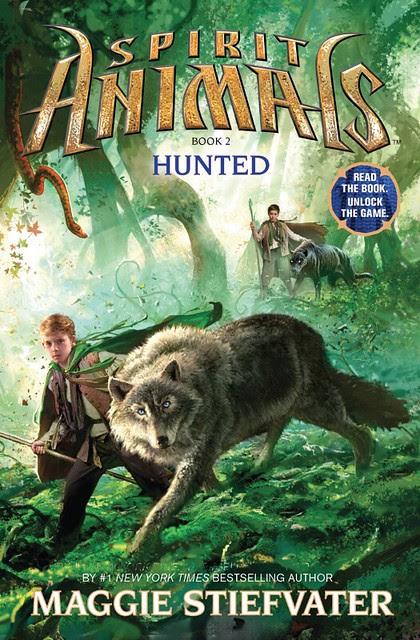 Spirit Animals 2: HUNTED Cover