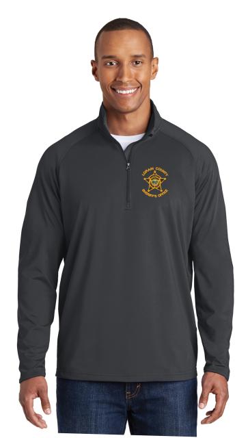 Download LCSO DETECTIVE ST850 Sport-Tek® Sport-Wick® Stretch 1/2-Zip Pullover