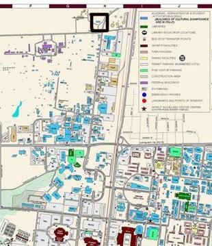 Texas Am Campus Map.Texas Am Map Business Ideas 2013