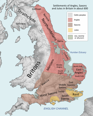 Peoples of Britain circa 600
