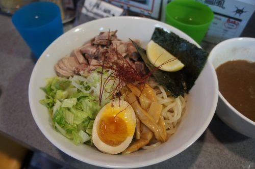 ラーメン台風のつけ麺