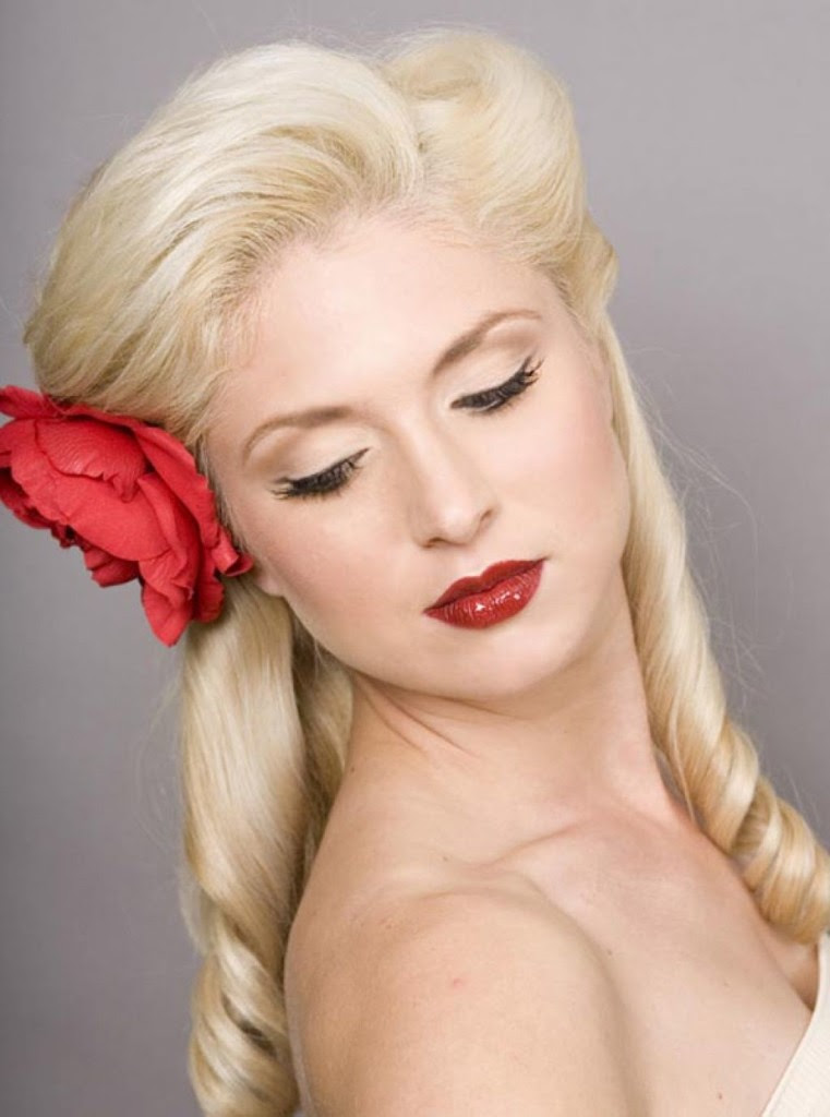 Best Graphic Of Pin Up Hairstyles For Short Natural Hair