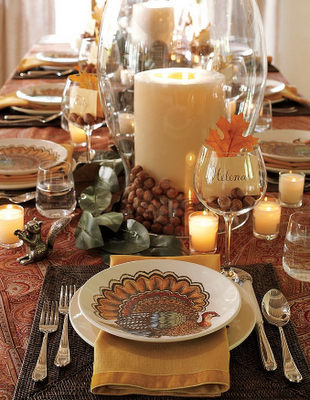 Thanksgiving Table Setting and Decorating Ideas | Simplified ...
