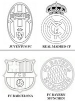 Disegni Da Colorare Uefa Champions League 2015 Morning Kids
