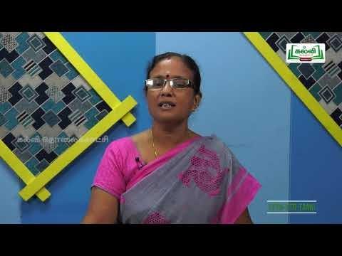 12th Tamil கவிதைப்பேழை தன்னேர் இலாத தமிழ் இயல் 1 Kalvi TV