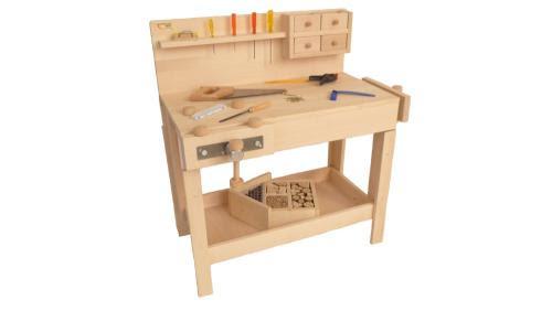 Kinderwerkbank Kinderhobelbank Kinderwerkzeug | Holz ...