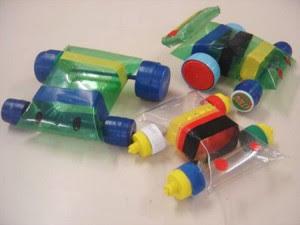 brinquedos reciclados garrafa pet criancas artes escola artesanato painel criativo 7