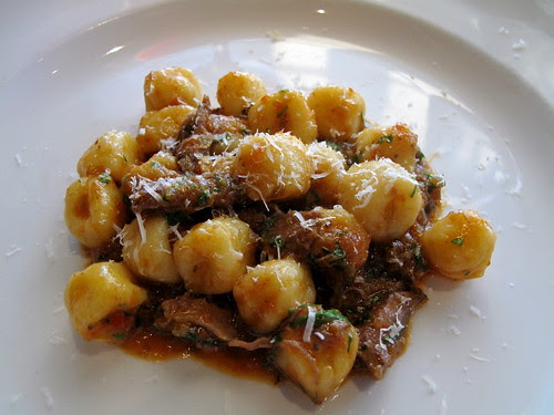 Gnocchi with Duck Ragu at Osteria Mozza