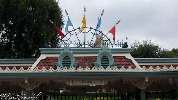 Disneyland Resort, Disneyland, Exit, Turnstile