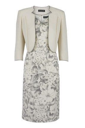 Jacques Vert   Dress & Bolero Jacket   Black & Cream