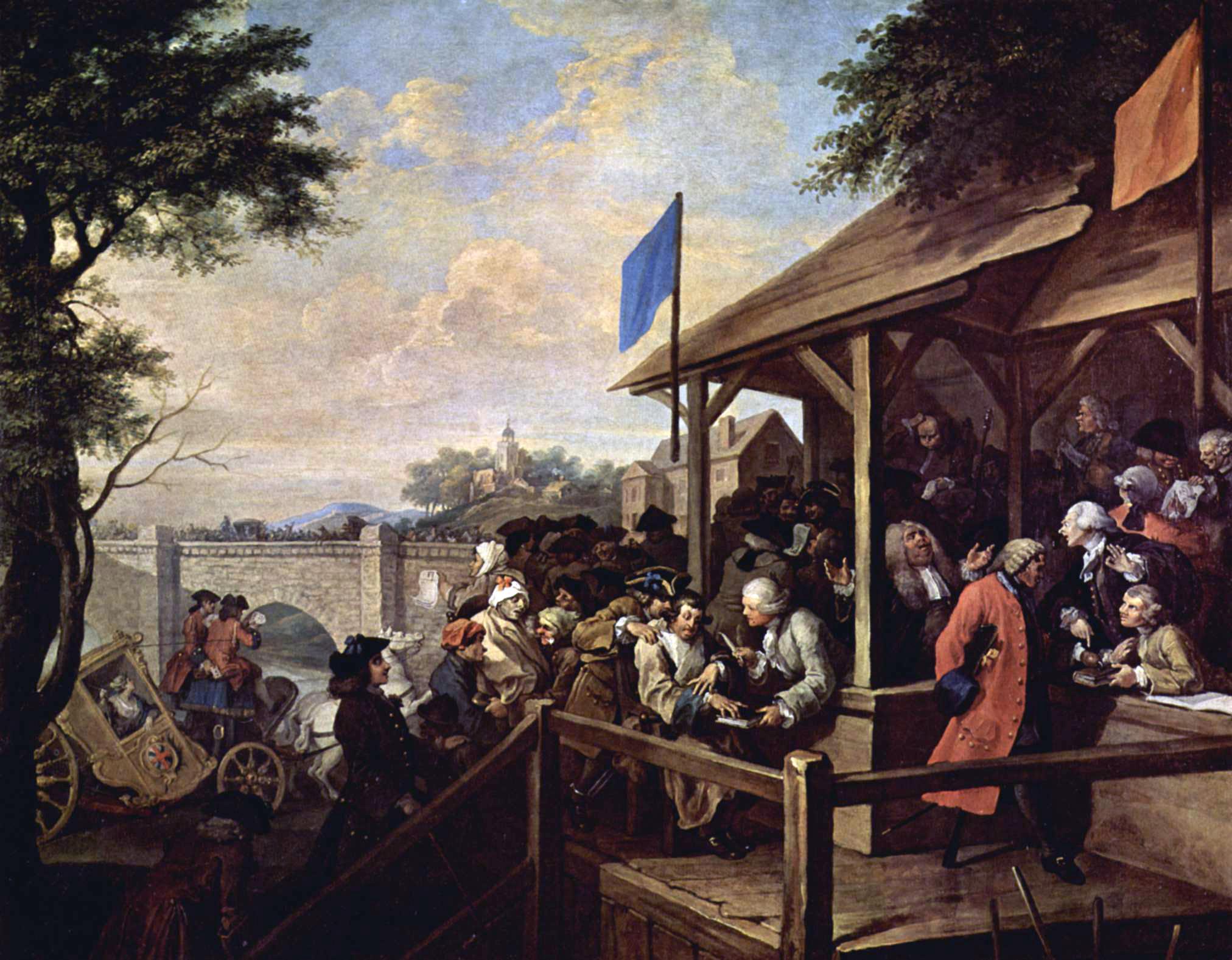 William Hogarth: The Polling