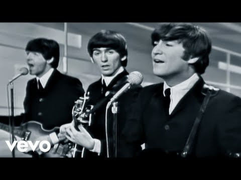 I Want To Hold Your Hand Lyrics and Video (The Beatles)
