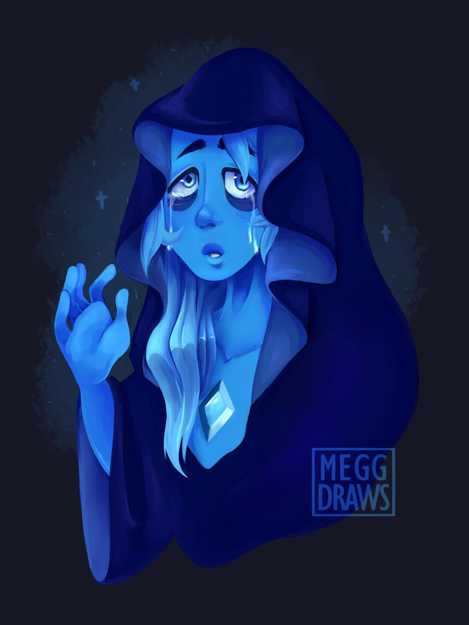 Blue Diamond is a goddess 💙💙