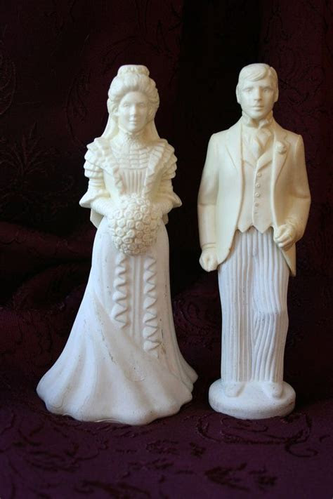 ON RESERVE For Donna   Bride & Groom Figurines