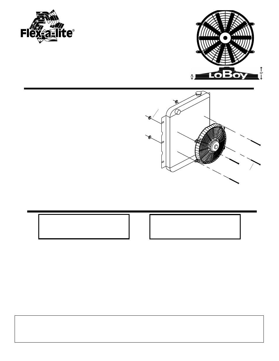 Flex A Lite Fan Controller Wiring Diagram
