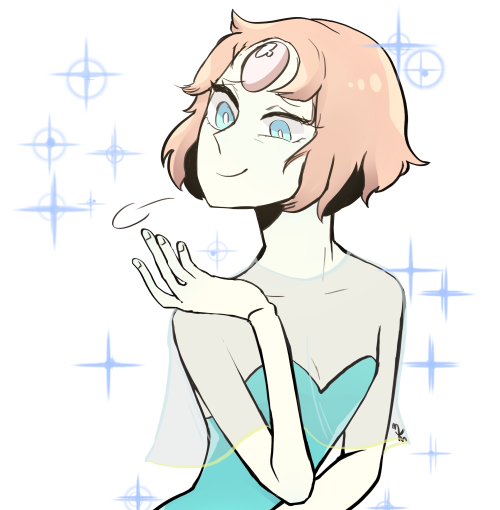 app-jack said: Can i request some Pearl in her 80's outfit? Answer: i love this outfit so much (;u; thank you for requesting! full size image here