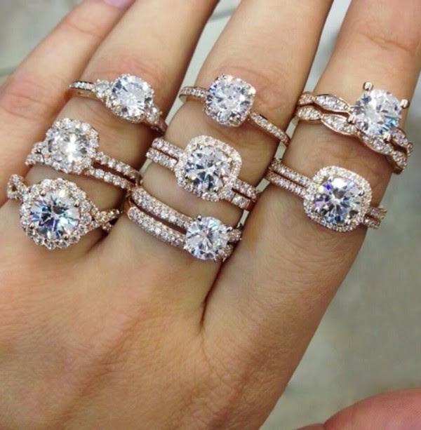 Luxury brand wedding rings
