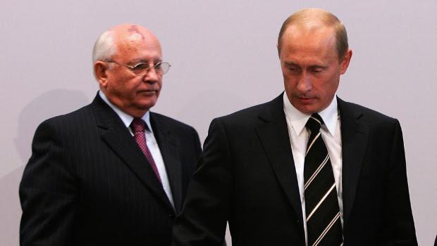 Putin, Gorbachev, Nga, Liên Xô