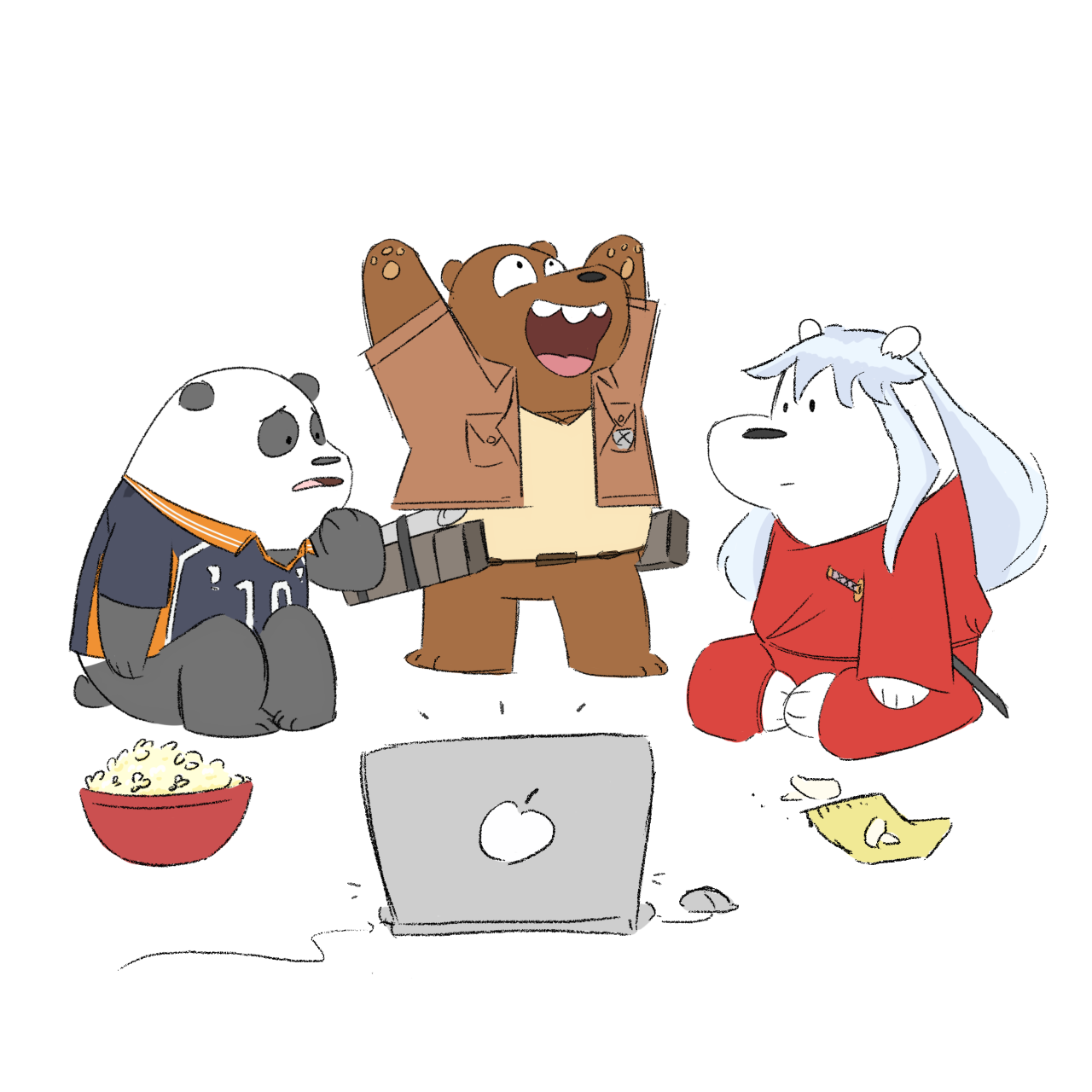 Weeb Bare Bears
