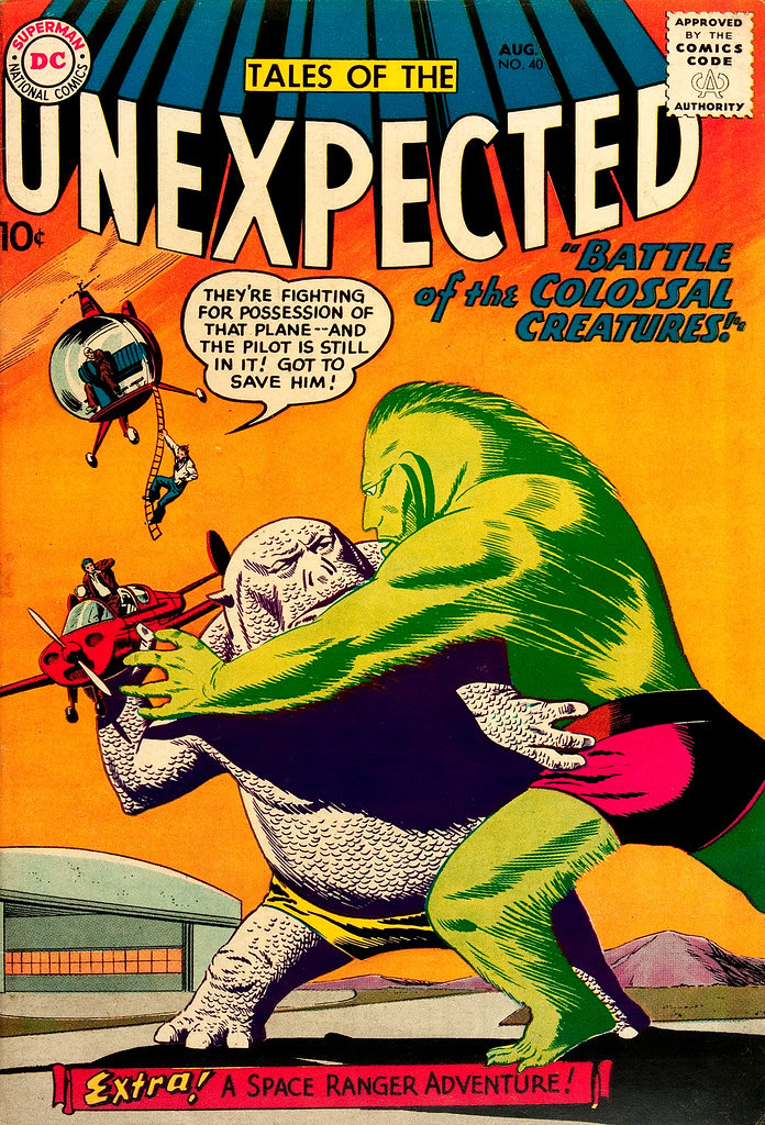 Tales of the Unexpected #40 (DC, 1959) Bob Brown cover