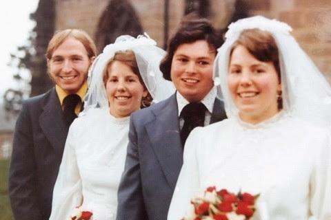 Gêmeas que casaram juntas ficam viúvas juntas