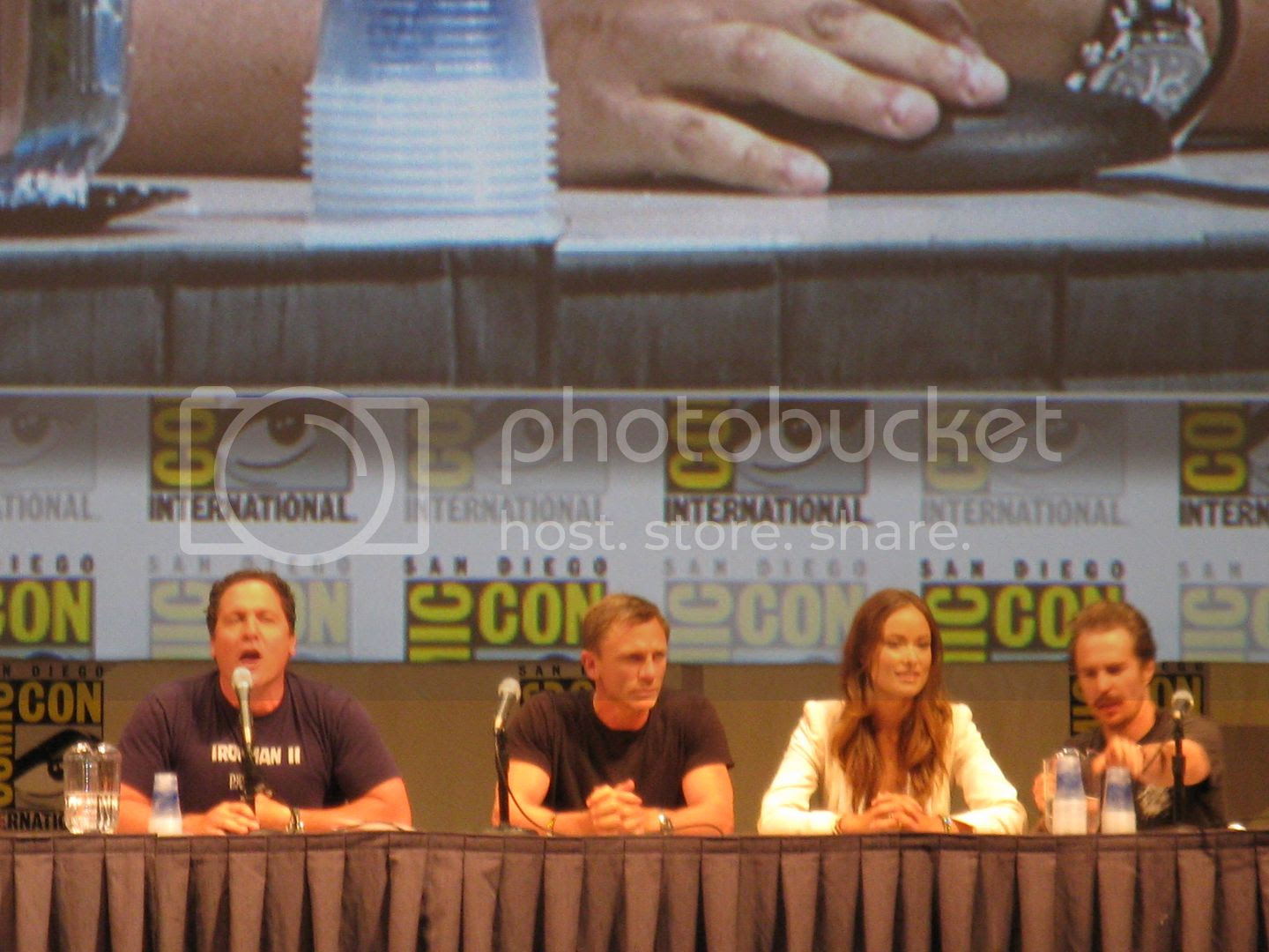 Cowboys and Aliens Panel at Comic Con - San Diego, California
