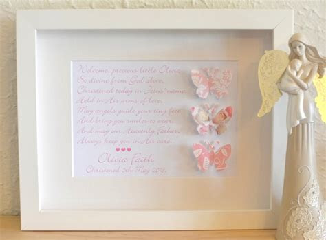 New Baby Christening Baptism Personalised Gift Idea Online