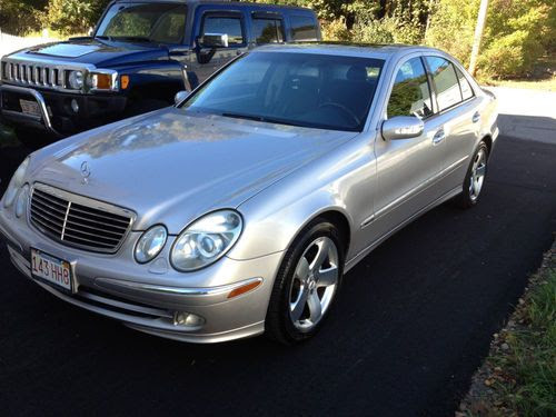 Purchase used 2003 Mercedes-Benz E500 Base Sedan 4-Door 5 ...