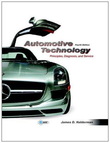 PDF Automotive Technology: Principles, Diagnosis, and ...