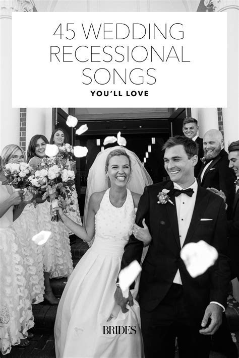 75 Wedding Recessional Songs You'll Love in 2019   Wedding