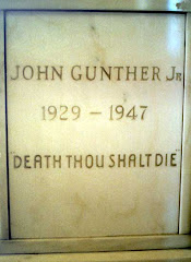 Johnny Gunther's Grave