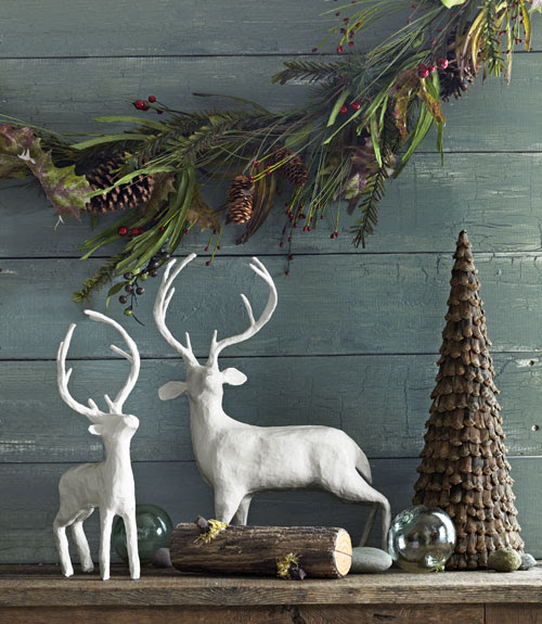 Cozy Natural Christmas Decor}  The Inspired Room