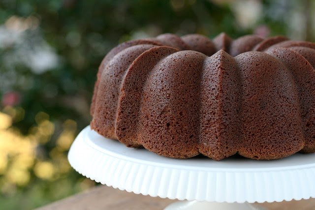 Dark Chocolate Bundt Cake - I Like Big Bundts 2011