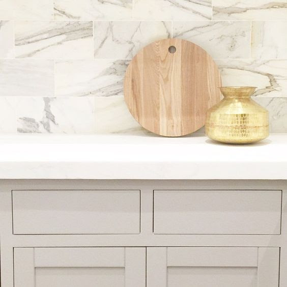 Cabinet painted with Smoke Embers from Benjamin Moore