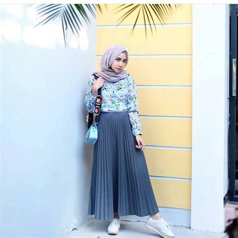 koleksi fashion baju hijab remaja  gaya