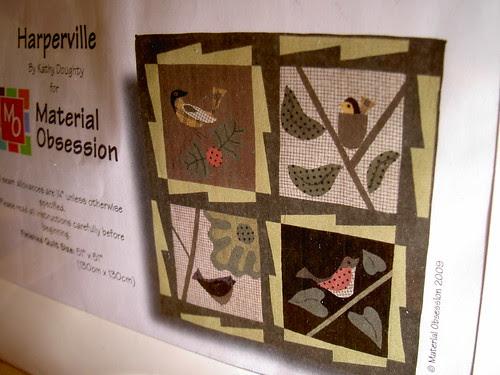 Harperville quilt kit