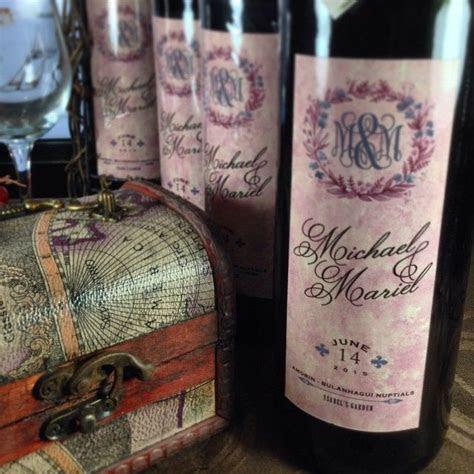 "For Ninong & Ninang Souvenirs ""Personalized Imported Wines"