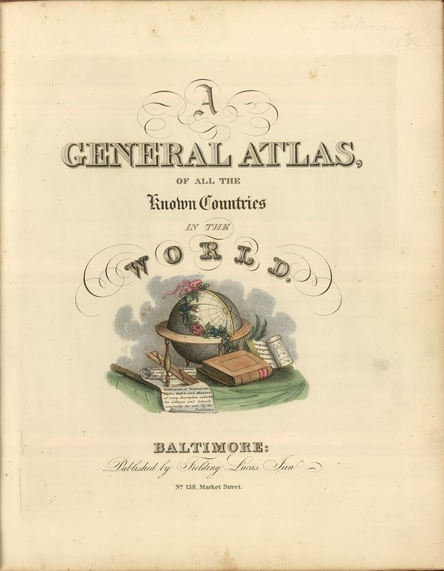 A General Atlas, Of All The Known Countries In The World 1822