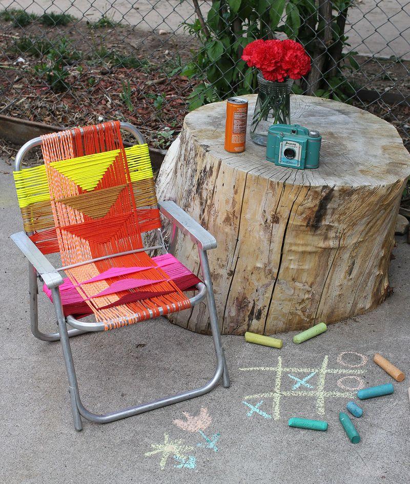 Woven Aluminum Chair