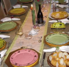 Alice & Rich's table