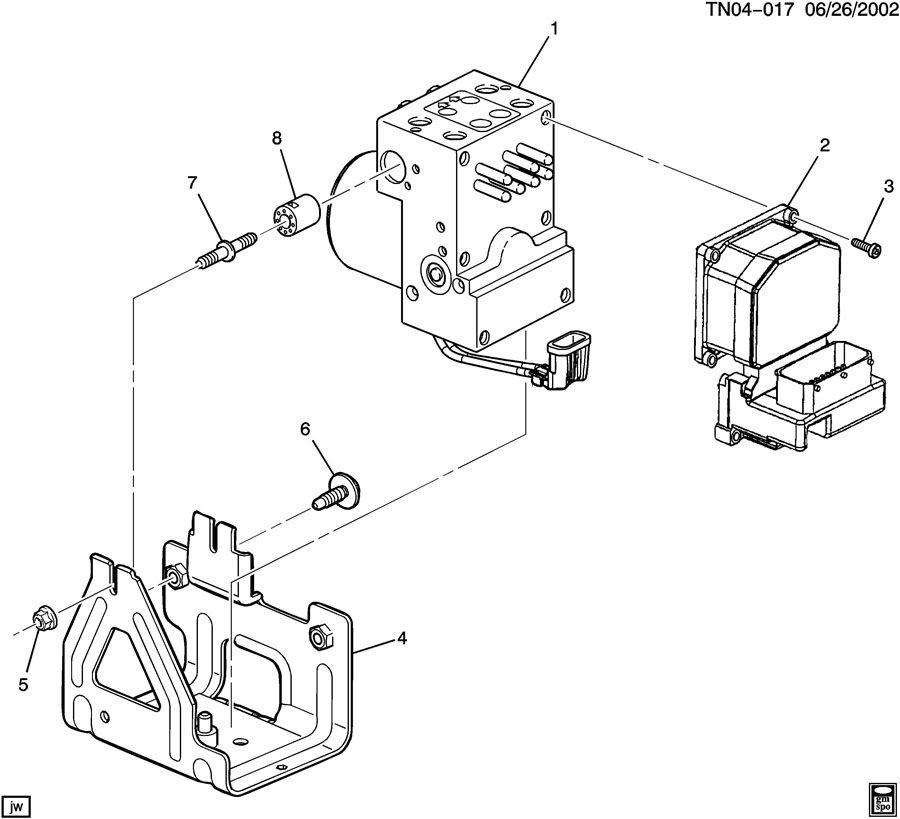 2003 Gmc Sierra 1500 Brake Line Diagram - Diagram