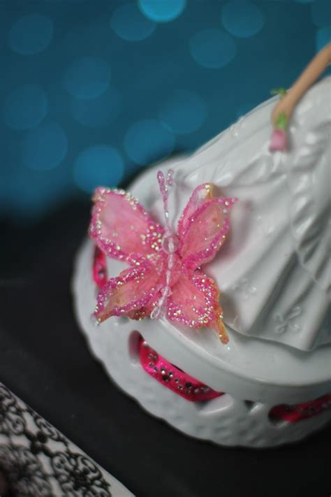 Butterfly Princess Quinceanera or Sweet Sixteen Cake