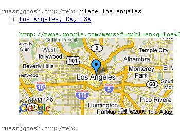 Fig: Locate Address in Google Map